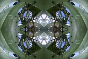 Imitation of Art XXI kaleidoscopic color photo collage by Ernesto Santalla reinterprets classic works of art