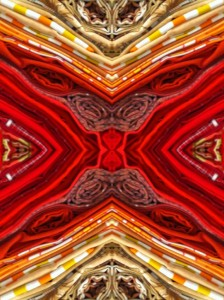 Imitation of Art XXIV vibrant color photo collage by Ernesto Santalla reinterprets classic works of art