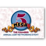 Poster/sign designed by Ernesto Santalla, PLLC—formerly Studio Santalla—for CALCC's 2013 mega networking event in Washington, DC
