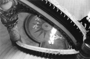 Opera Chat black and white photograph by Ernesto Santalla