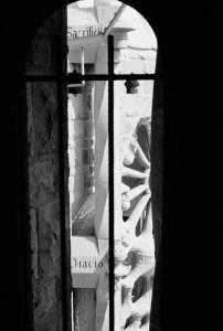 SAGRADA FAMILIA III black and white photograph by Ernesto Santalla